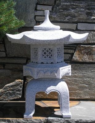 Rokkaku Yukimi Japanese Stone Lanterns Amp Basins