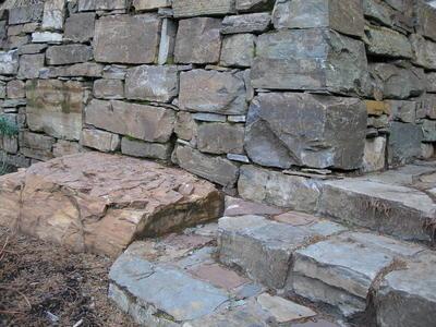 Idaho Mountain - Wall & Stairway