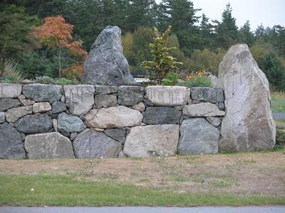 Granite Wall - drystack