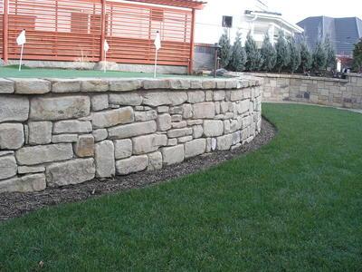 Mahogany Tumbled Building Stone