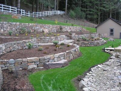 Idaho Mountain - Drystacked Terraces