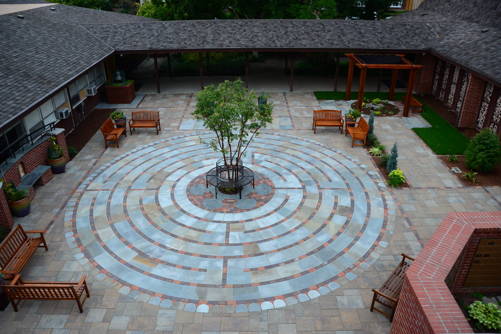Labyrinth project by Gaia Landscape
