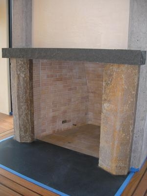 Bronze Basalt Columns