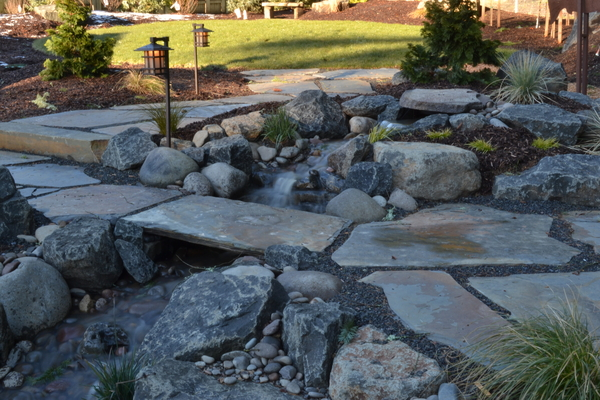 Image FEATURE of the MONTH: Landscape with Water Feature by Shonnard's Landscape