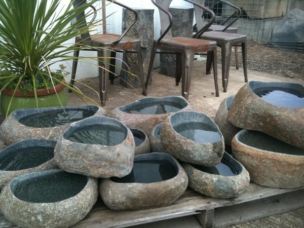 Ishi Bachi Stone Bowls Japanese Stone Lanterns Amp Basins