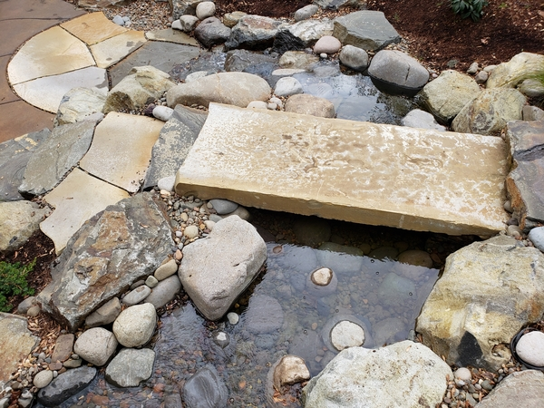 Image 2 Patio and Water Feature by HamHopson Landscape