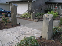 Image Stone Columns & Bowls