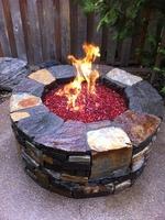 Firepit by Gaia Landscape thumbnail