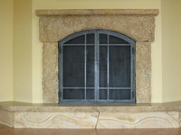 Big Springs Stone Fireplace thumbnail