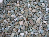 Image Indonesian River Pebbles