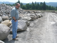 Santiam River Boulders