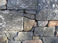 Image Black Basalt Wall Rock