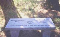 Image Classic Granite Garden Benches