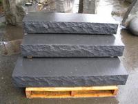 Black Granite Stair Treads