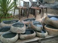 Image Ishi Bachi      (Stone Bowls)