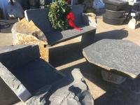 Image Basalt Garden Loveseat and Club Chair